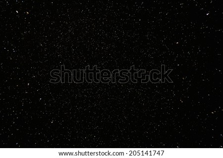 Narural real night sky stars background texture.