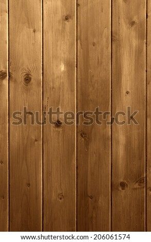 Wooden background. Brown grunge texture of wood board #206061574