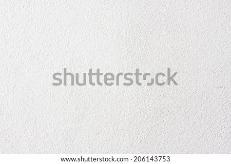 White Wall Background or Texture