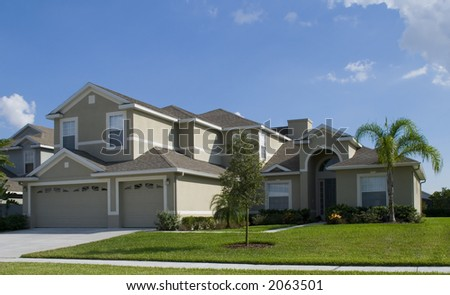 Rural home on a sunny day in Florida #2063501