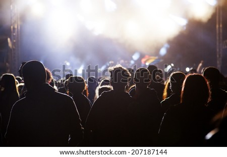 Crowd at concert #207187144