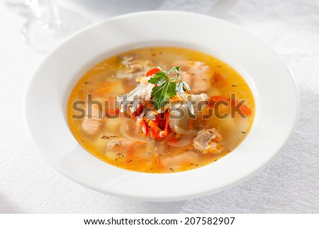 fish soup #207582907