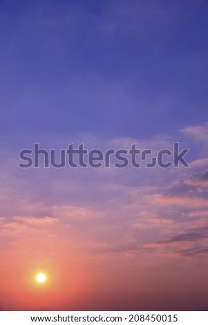Sunrise Seen From Miyajima Sa #208450015