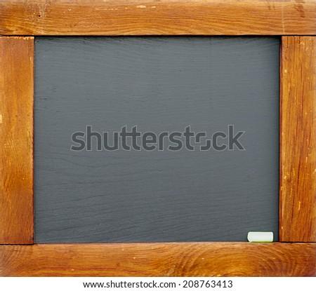 Vintage slate chalk board #208763413