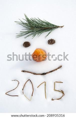 new year 2015 Royalty-Free Stock Photo #208935316