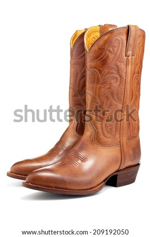 Brown Cowboy Boots #209192050
