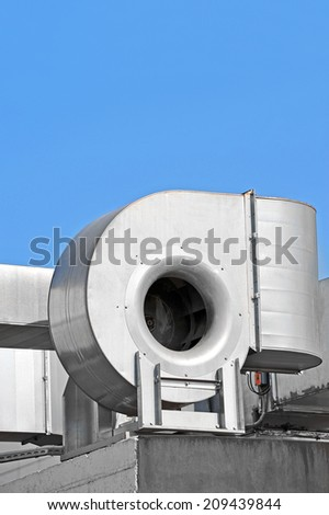 Industrial steel air conditioning and ventilation systems #209439844