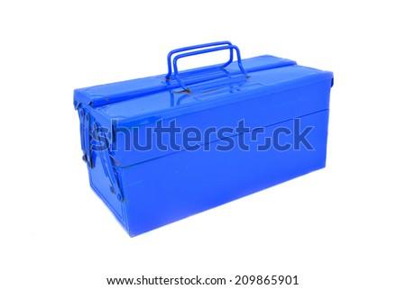 blue mechanic tool on a white screen #209865901
