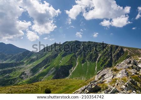 Summer mountains - West Tatras, Slovakia, Europe #210354742