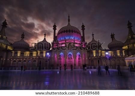 Royal Pavilion Ice Skating Rink, Brighton, United Kingdom