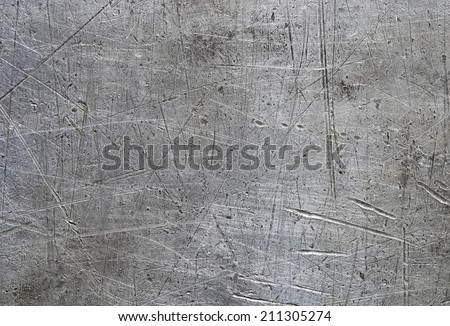 Scratched metal background Royalty-Free Stock Photo #211305274