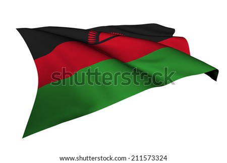 Malawi flag - collection no_5  #211573324