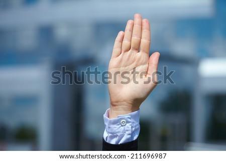 woman hand #211696987