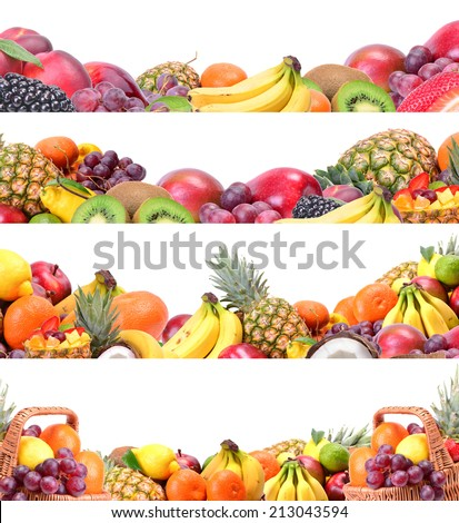 Fresh fruit #213043594