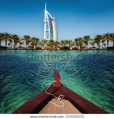 luxury place resort and spa for vacation in Dubai, UAE #213210151
