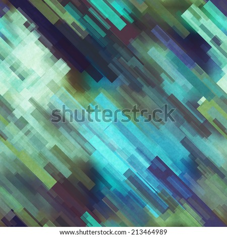 art abstract geometric diagonal pattern background in blue and green colors #213464989