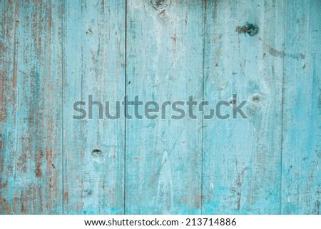Blue color planks background