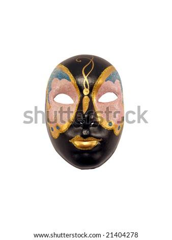 carnival mask on white background #21404278