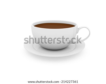cup of coffee  #214227361