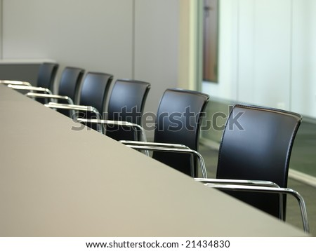 lined up chairs #21434830