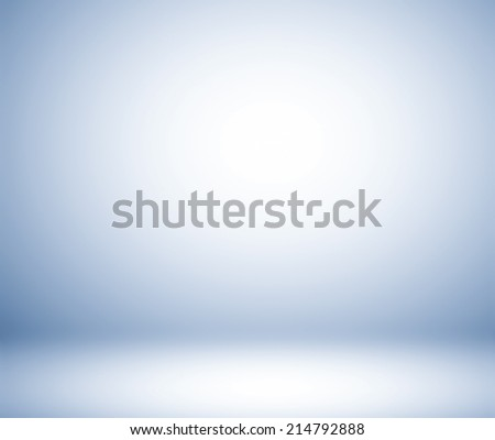 Abstract illustration background texture of beauty dark and light clear blue, cold gray, snowy white gradient flat wall and floor in empty spacious room interior #214792888