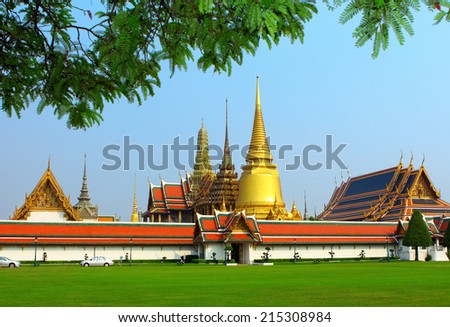 Grand palace in Bangkok #215308984