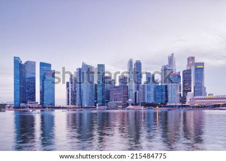 prosperous cityscape,buildings exterior #215484775