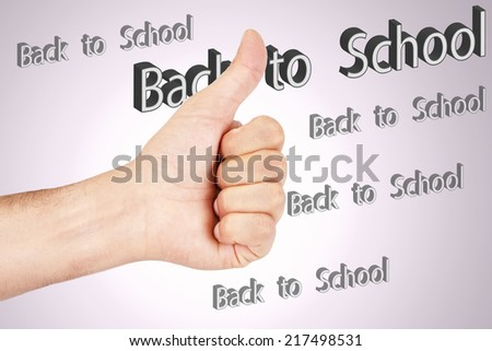 hand lettered school #217498531