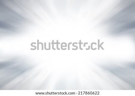 Abstract explosion motion light on gray background.