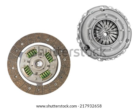 clutch cover under the white background #217932658