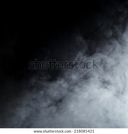 Smoke texture over blank black background #218085421