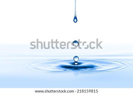 Water Drop Royalty-Free Stock Photo #218159815