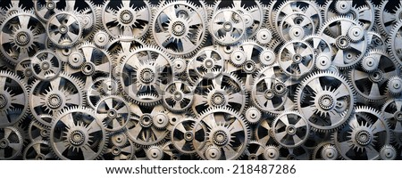 Gears and cogwheels #218487286