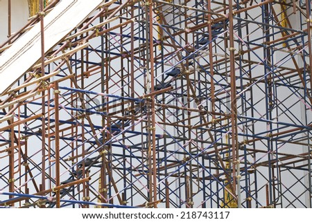 Supporting scaffold construction #218743117