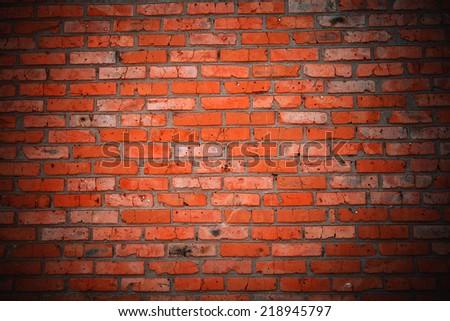 Old grunge brick wall background #218945797