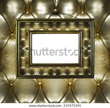 Gold Frame #219472345