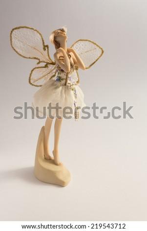 Beautiful ceramic fairy
