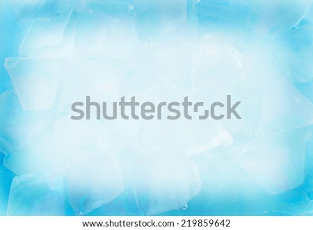 Ice  background close up view