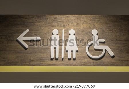 Toilet Icon Vintage