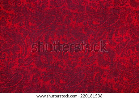 Traditional paisley pattern cashmere pashmina sample #220181536