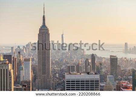 Aerial View of Manhattan, New York #220208866