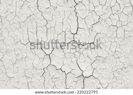 painted cracked wall texture #220222795