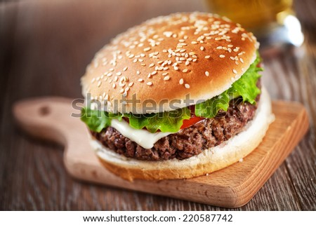 Fresh Hamburger #220587742