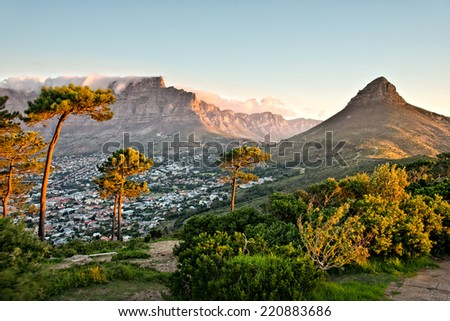 Signal Hill, Cape Town, South Africa Royalty-Free Stock Photo #220883686