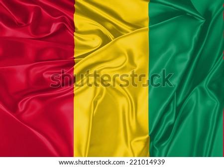 Guinea waving flag #221014939
