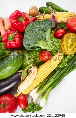 fresh vegetables #221122948