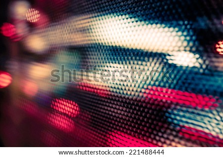 abstract background with bokeh defocused lights and shadow  Royalty-Free Stock Photo #221488444