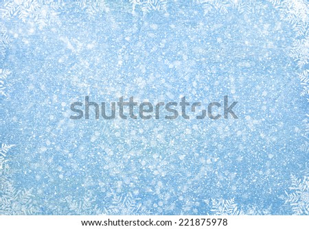 Old wood texture with snow christmas background Royalty-Free Stock Photo #221875978
