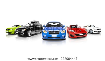 Collection of 3D Cars #222004447