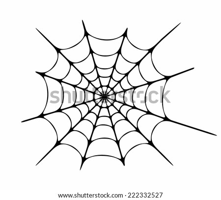 Vector illustration of cobweb #222332527